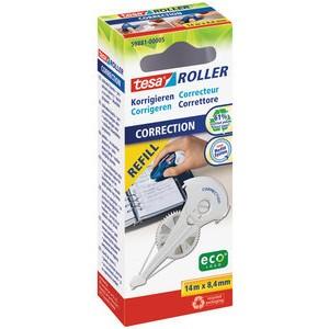 Korrekturrollernachfüllkassette ecoLogo®, 8,4mmx14m, 2z., weiß