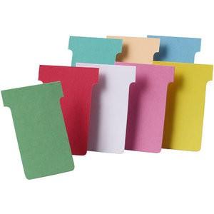 Einsteckkarte, Größe 2, 85 x 60 mm, 170 g/m², grün