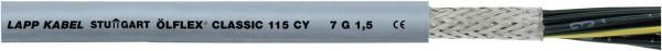 LappKabel ÖLFLEX® CLASSIC 115 CY Steuerleitung 4 G 4 mm² Grau 1136504 Meter