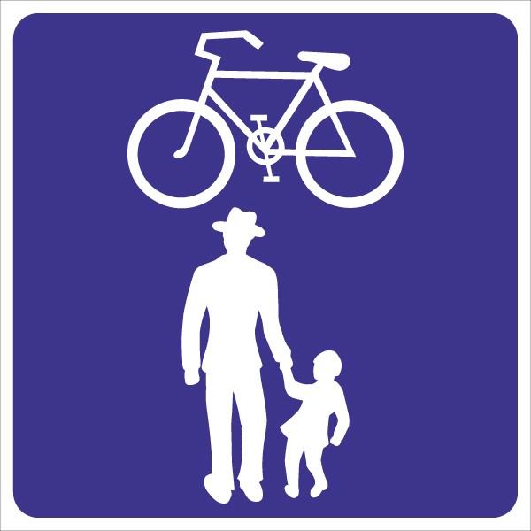 §53/28a Geh- und Radweg ohne Benützungspflicht für Radfahrer