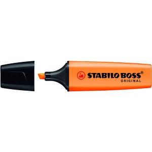 Textmarker BOSS® ORIGINAL, nachfüllbar, Ksp., 2-5mm, Schreibf.: orange