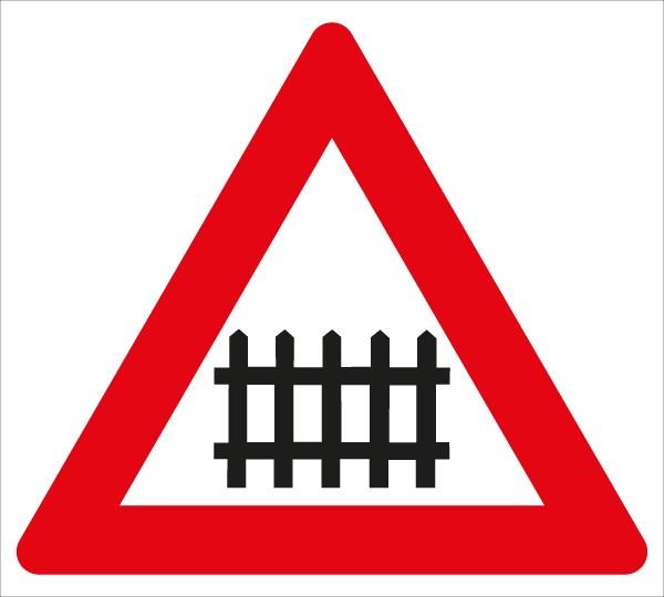 §50/6a Bahnübergang mit Schranken