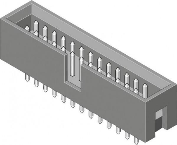 MPE Garry Stiftleiste (Standard) STL Polzahl Gesamt 14 Rastermaß: 2.54 mm 0