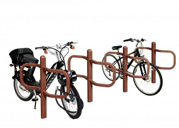 CONVI® Radlehne für 2 Fahrräder