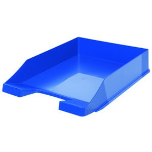 Briefkorb, PS, C4, 255 x 348 x 65 mm, blau