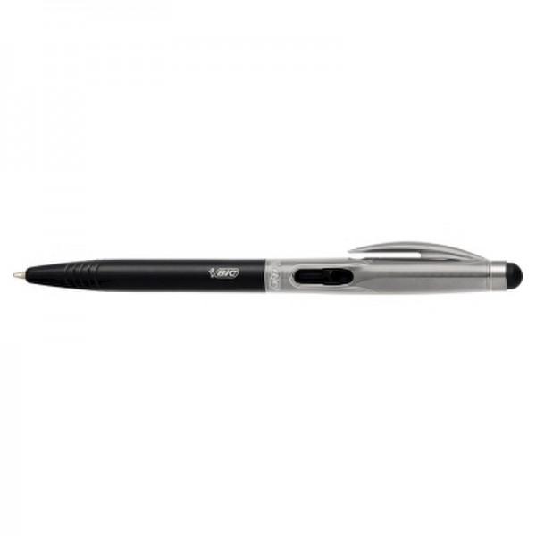 BIC Kugelschreiber 2in1 Stylus 919378 0,4mm schwarz