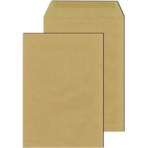 Versandtasche, o.Fe., haftklebend, C4, 90 g/m², Offset, weiß