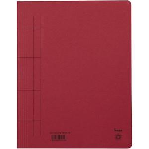 Schnellhefter, Karton (RC), 1/1 Vorderdeckel, A4, rot