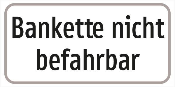 §54/5 ZT. Bankette nicht befahrbar