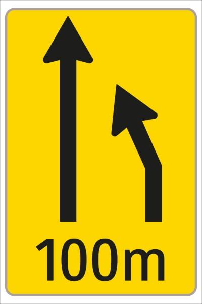 §53/16c Fahrstreifenanzeiger gelb – schwarz F2