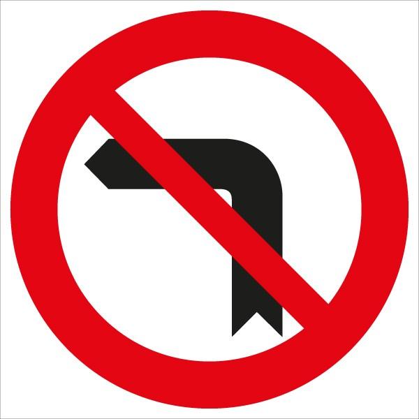 §52/3a Einbiegen nach links verboten