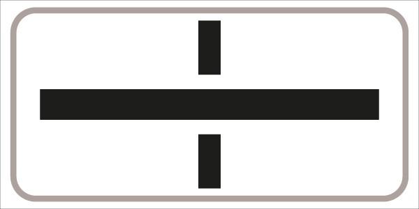 §54/5 Z.T. m. Symbol: Querstr. (--ö--) ist Vorrangstr.