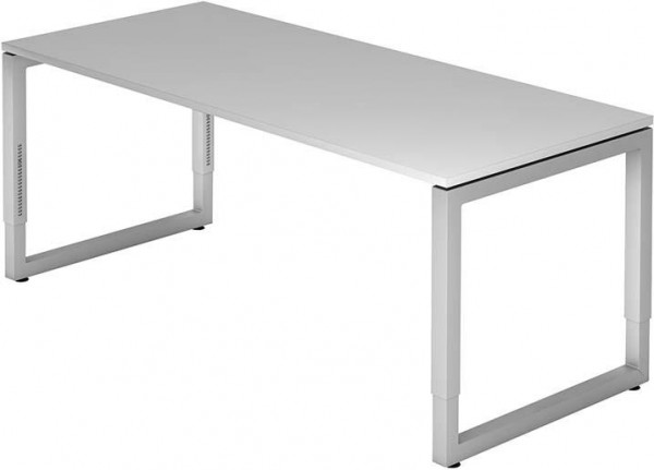 Schreibtisch R-Serie 180x80 grau
