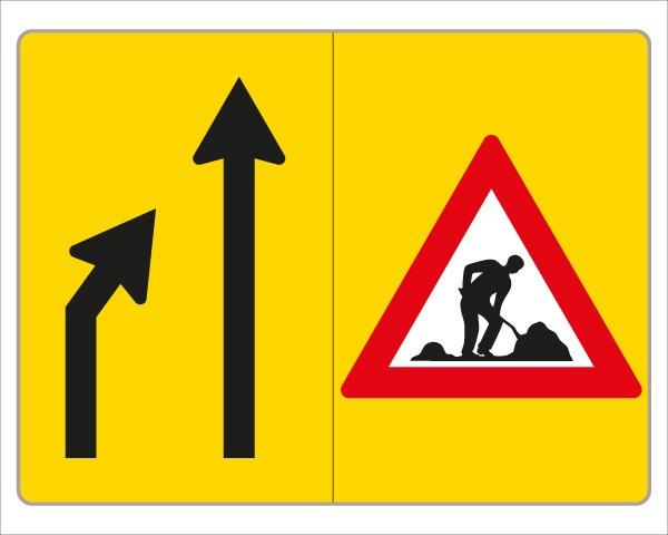§53/16c Fahrstreifenanzeiger gelb – schwarz V3a