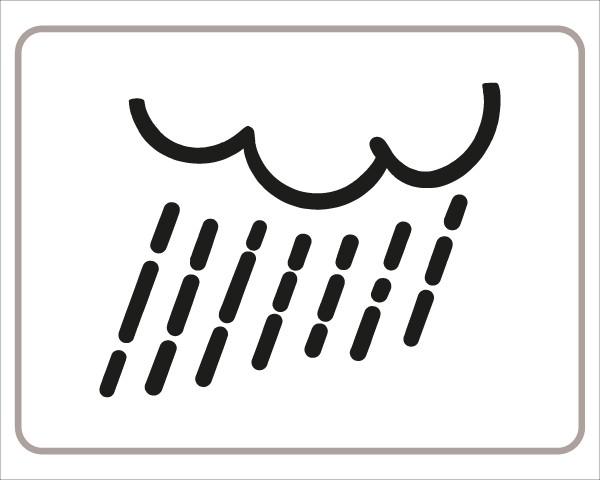 §54/5 Zusatztafel Regen