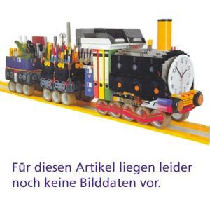 Einhakhefter, Karton (RC), 250 g/m², kfm. Heft., A4, rot