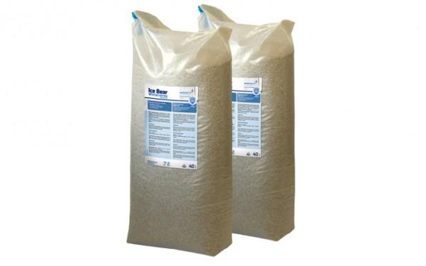 Winterstreumittel 40 Liter Sack, 2 Stück