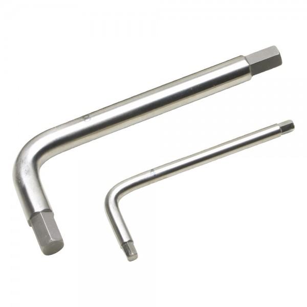 A-MAG Sechskantstiftschlüssel, Titan, SW 7,0 mm