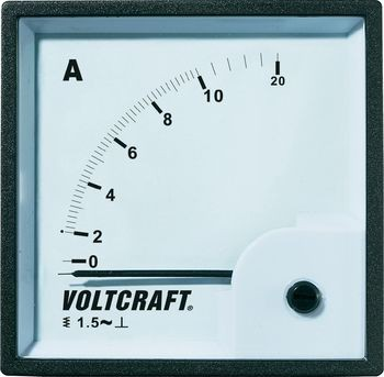 VOLTCRAFT AM-72X72/10A Analog-Einbaumess