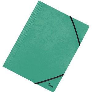 Einschlagmappe Vario, Karton, 425 g/m², 3 Klappen, A4, grün