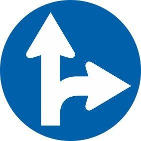 §52/15b Vorgeschriebene Fahrtrichtung | Alform Verkehrszeichen