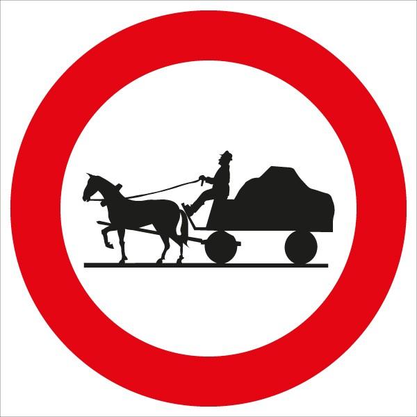 §52/7c Fahrverbot für Fuhrwerke