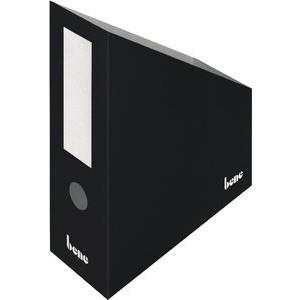 Stehsammler, Wellpappe, mit Griffloch, A4+, 100x260x320mm, schwarz