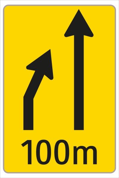 §53/16c Fahrstreifenanzeiger gelb – schwarz F1