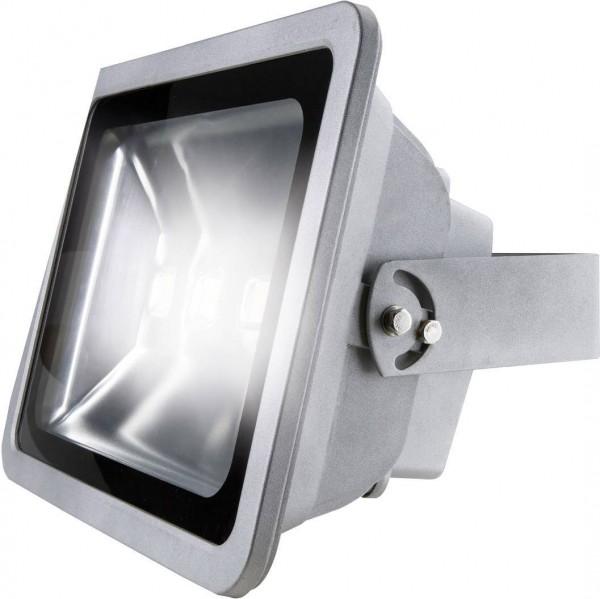 as - Schwabe 46985 LED-Außenstrahler 120 W Neutral-Weiß Grau