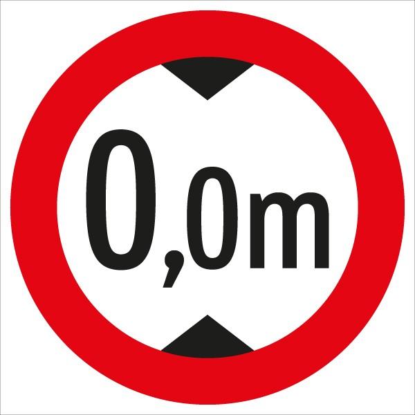 §52/9b Fahrverbot für über ...m hohe Fahrzeuge