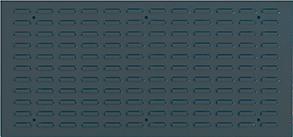 Schlitzplatte 991x457 mm anthrazitgrau RAL7016