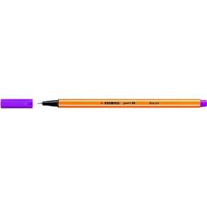 Fineliner point 88®, mit Kappe, 0,4 mm, Schreibf.: lila