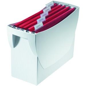 Hängebox SWING, o. Deckel, leer, A4, 39x15x26cm, für: 20Hängem., gr