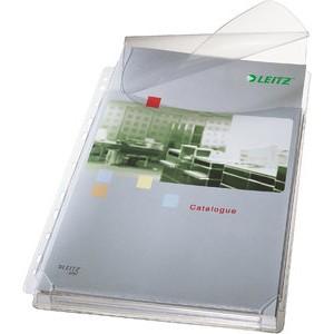 Prospekthülle Maxi, mit Klappe, PVC-Weichfol., A4, 0,17mm, gen.