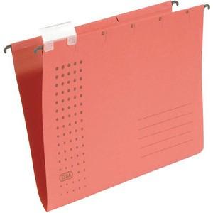 Hängemappe chic, Karton (RC), 230g/m², A4, rot