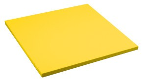 Sport-Thieme Judomatte Gelb,Tafelgröße ca. 100x100x4 cm