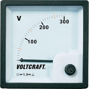 VOLTCRAFT AM-72x72/300V Analog-Einbaumes