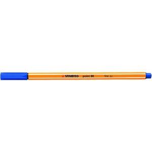 Fineliner point 88®, mit Kappe, 0,4 mm, Schreibf.: dunkelblau