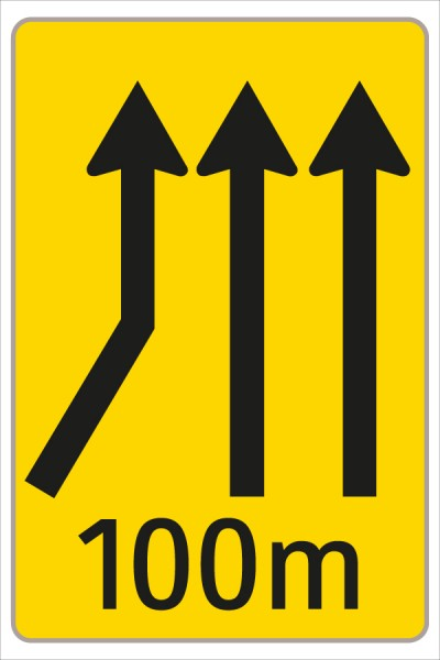 §53/16c Fahrstreifenanzeiger gelb – schwarz F16