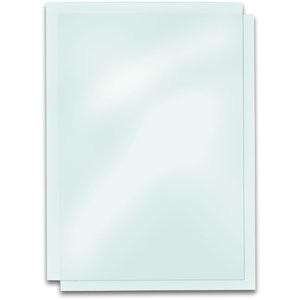 Umschlagmaterial, PVC, 0,23mm, A4, farbl., glasklar