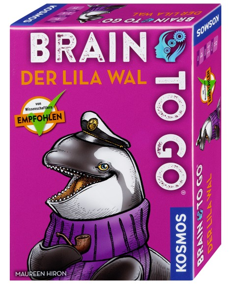 BRAIN TO GO® – Der lila Wal