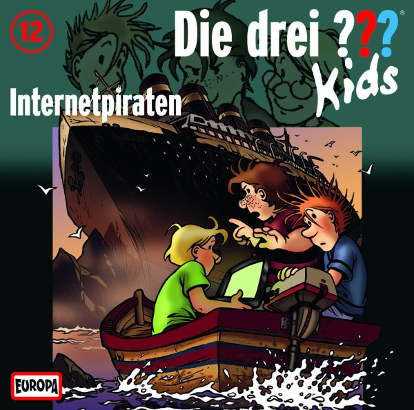 Die drei ??? Kids, 12, Internetpiraten - Audio-CD