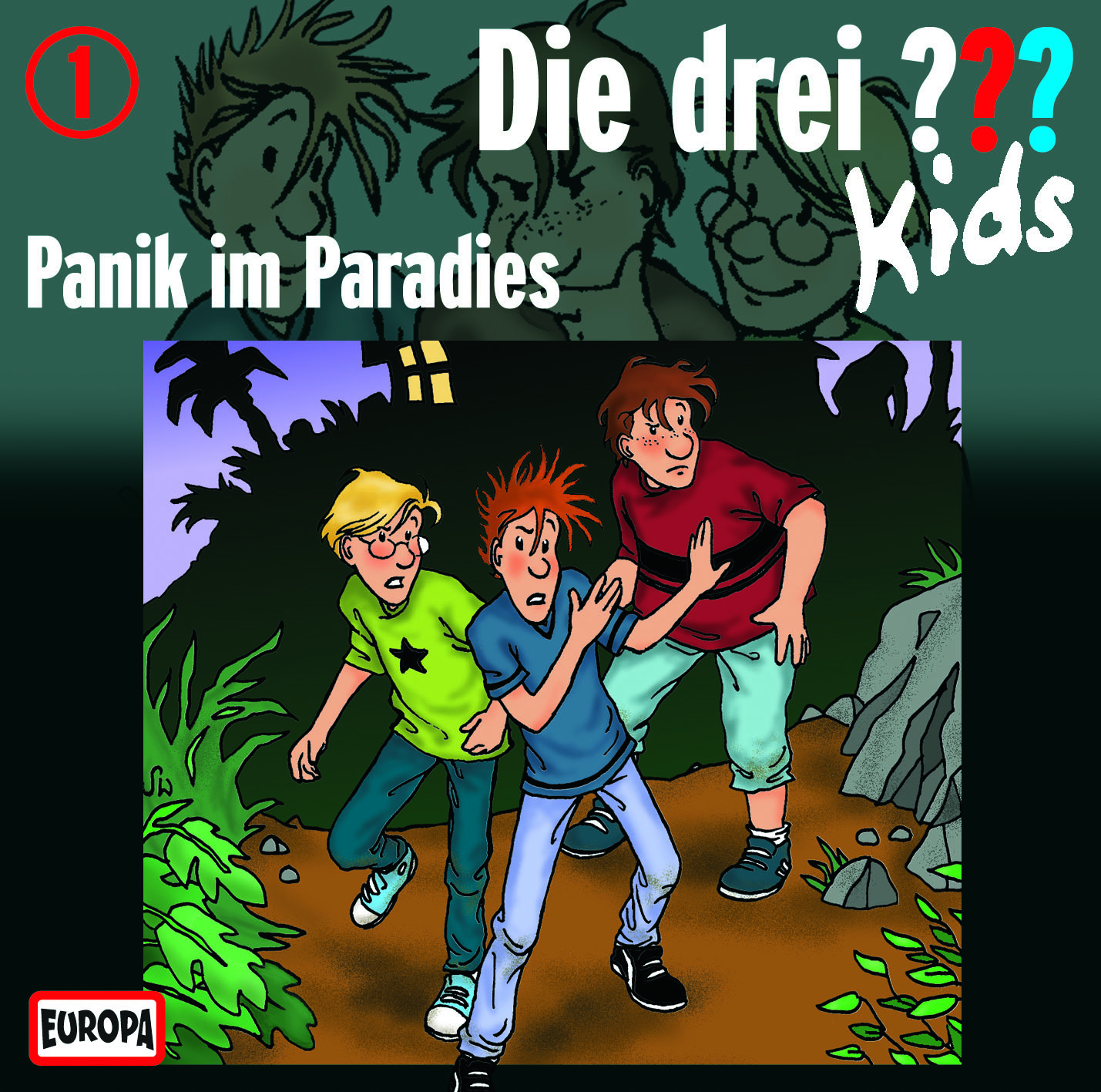 die drei kids 1 panik im paradies audio cd die. Black Bedroom Furniture Sets. Home Design Ideas