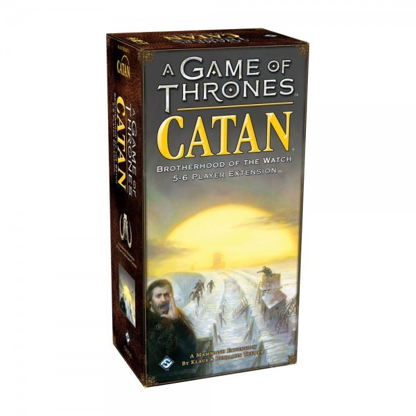 A Game of Thrones - CATAN - Brotherhood of the Watch 5-6 player Extension