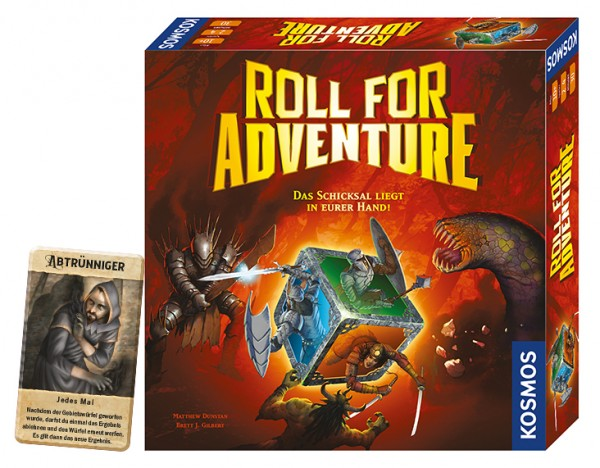 Package: Roll for Adventure + Helden-Tableau