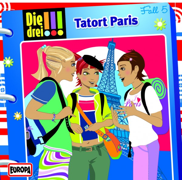 Die drei !!!, 5, Tatort Paris - Audio-CD