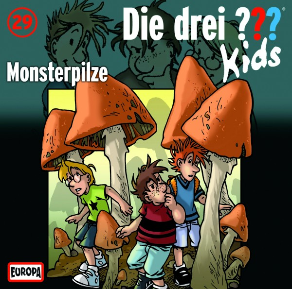 Die drei ??? Kids, 29, Monsterpilze - Audio-CD