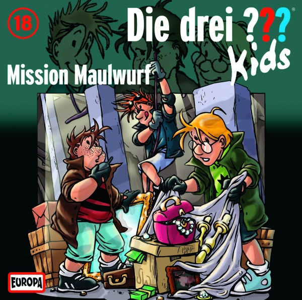 Die drei ??? Kids, 18, Mission Maulwurf - Audio-CD