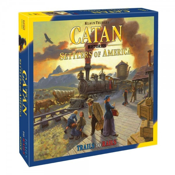 CATAN - Histories: Settlers of America - Trails to Rails
