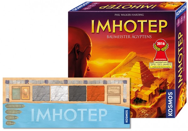 Package: Imhotep + Spielmatte